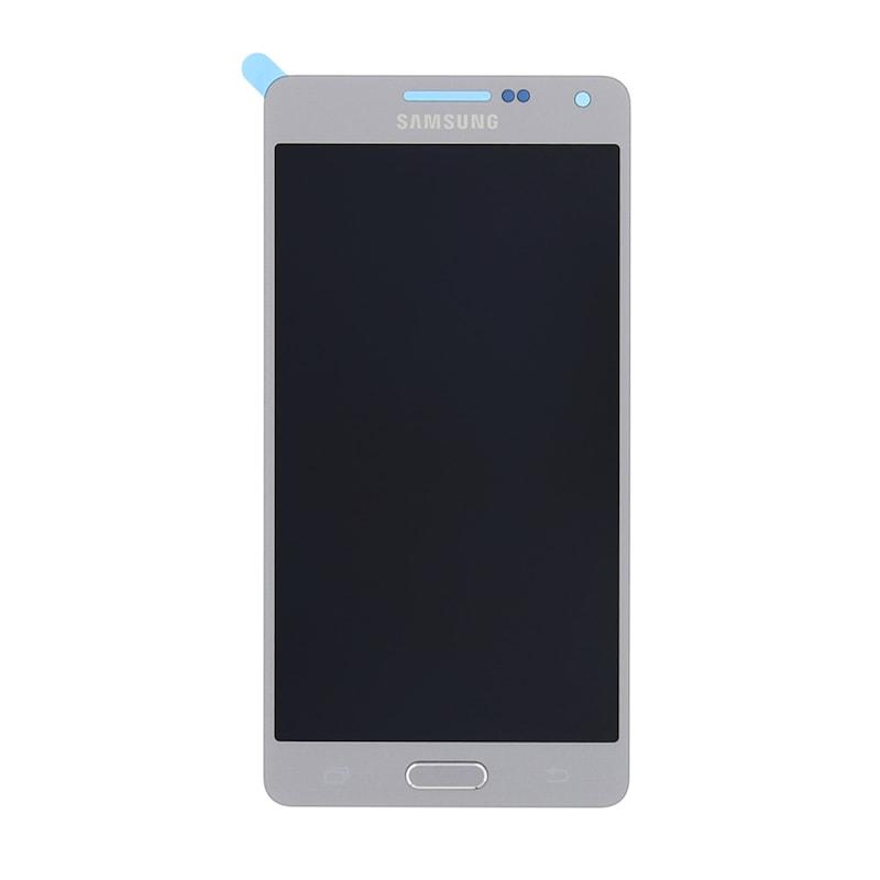 Samsung Galaxy A5 2015 LCD displej dotykové sklo stříbrné A500F