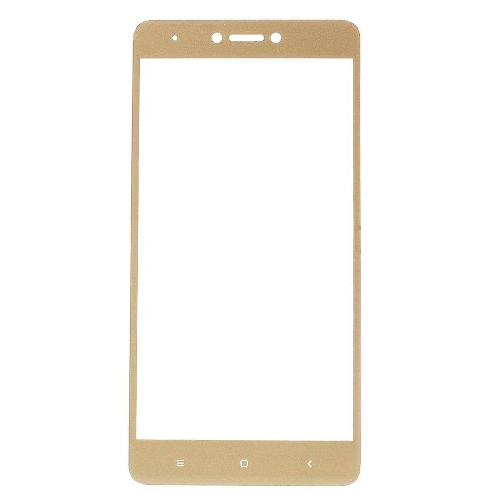 Xiaomi Redmi Note 4 / 4X 3D ochranné tvrzené sklo zlatý