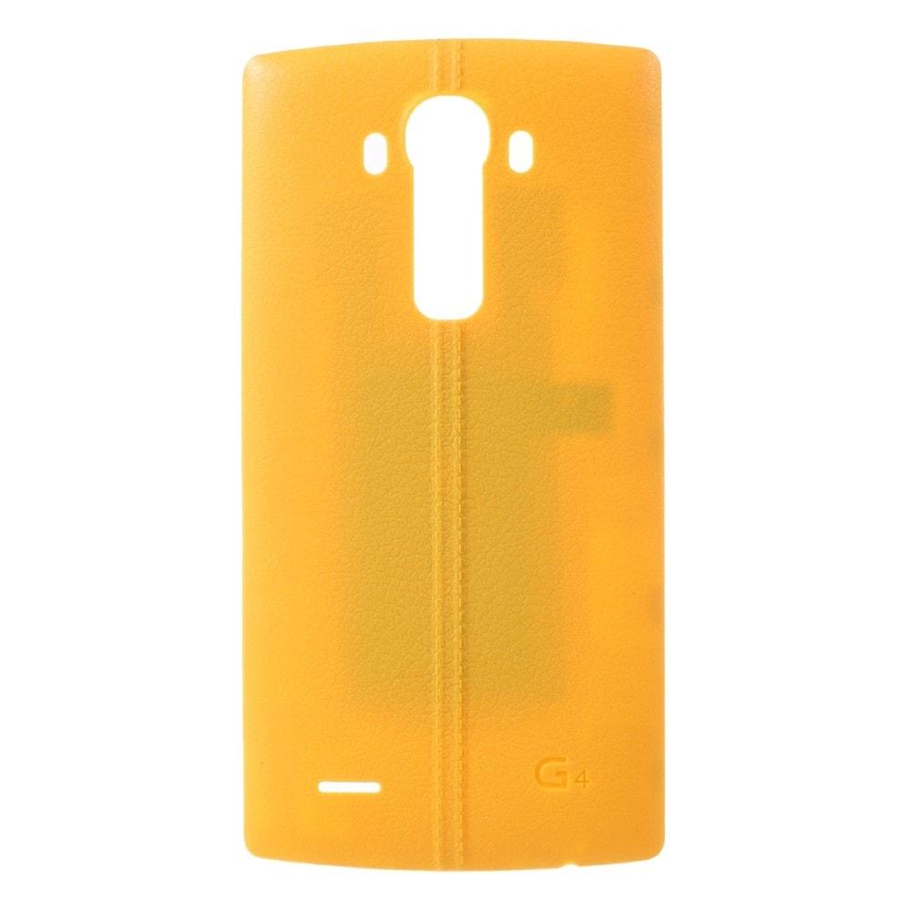 LG G4 Zadní kryt baterie žlutý H815