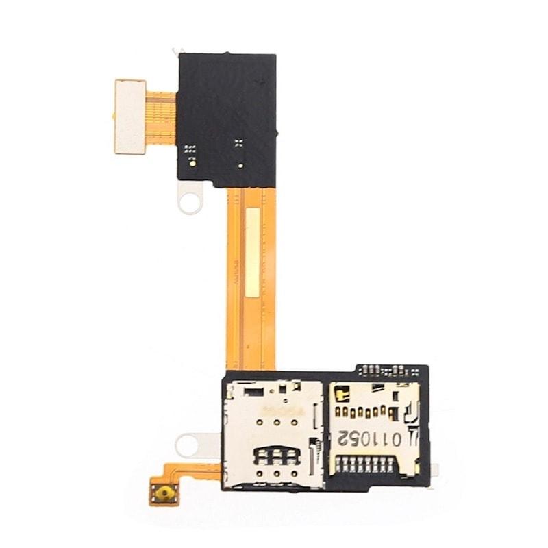 Sony Xperia M2 / M2 Aqua čtečka SIM SD karty a zapínací tlačítko D2303