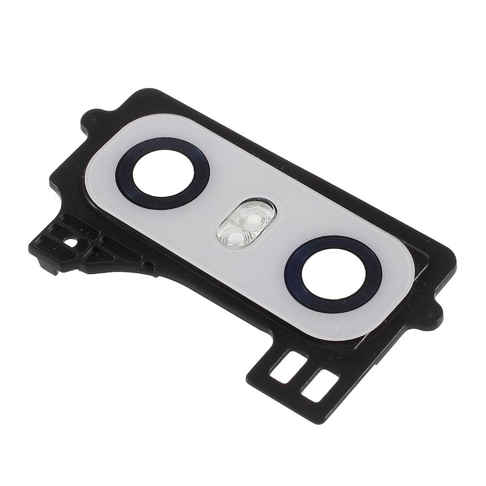 LG G6 Krytka čočky fotoaparátu a blesku bílá H870