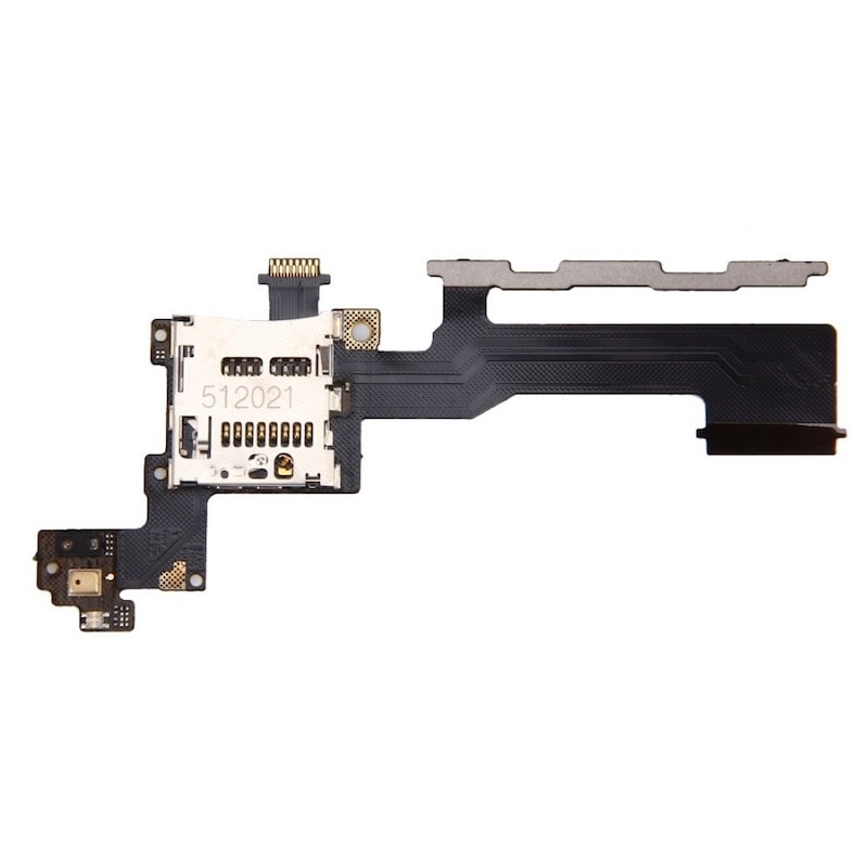 HTC One M9 zapínací tlačítko ovládání hlasitosti volume flex power + SD čtečka mikrofon
