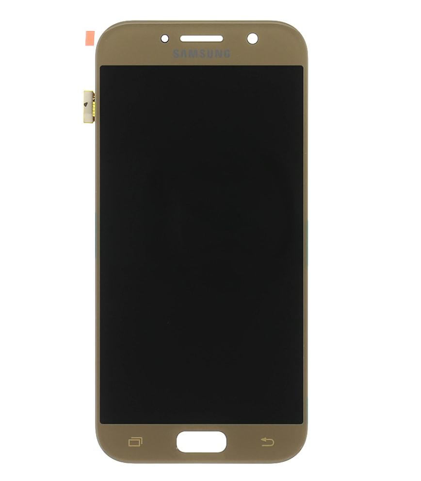 Samsung Galaxy A5 2017 LCD displej dotykové sklo zlaté A520F