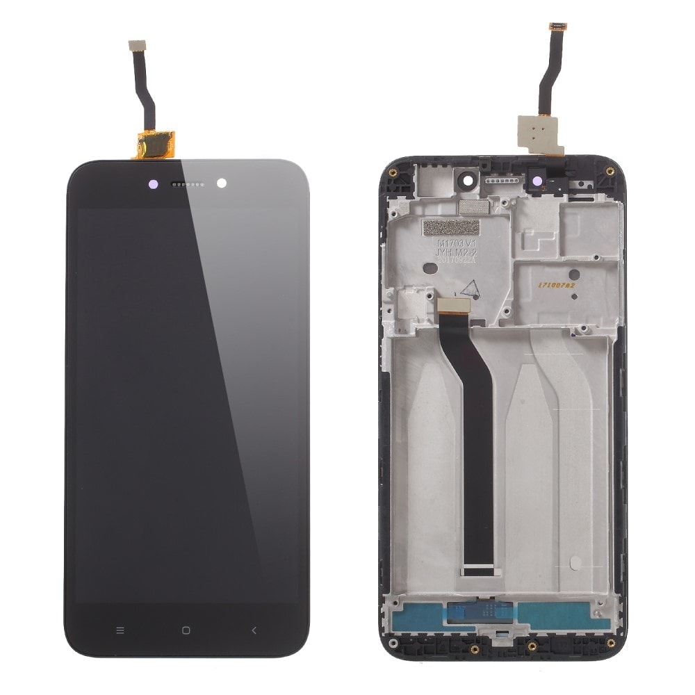 Xiaomi Redmi 5A LCD displej dotykové sklo černé komplet přední panel včetně rámečku
