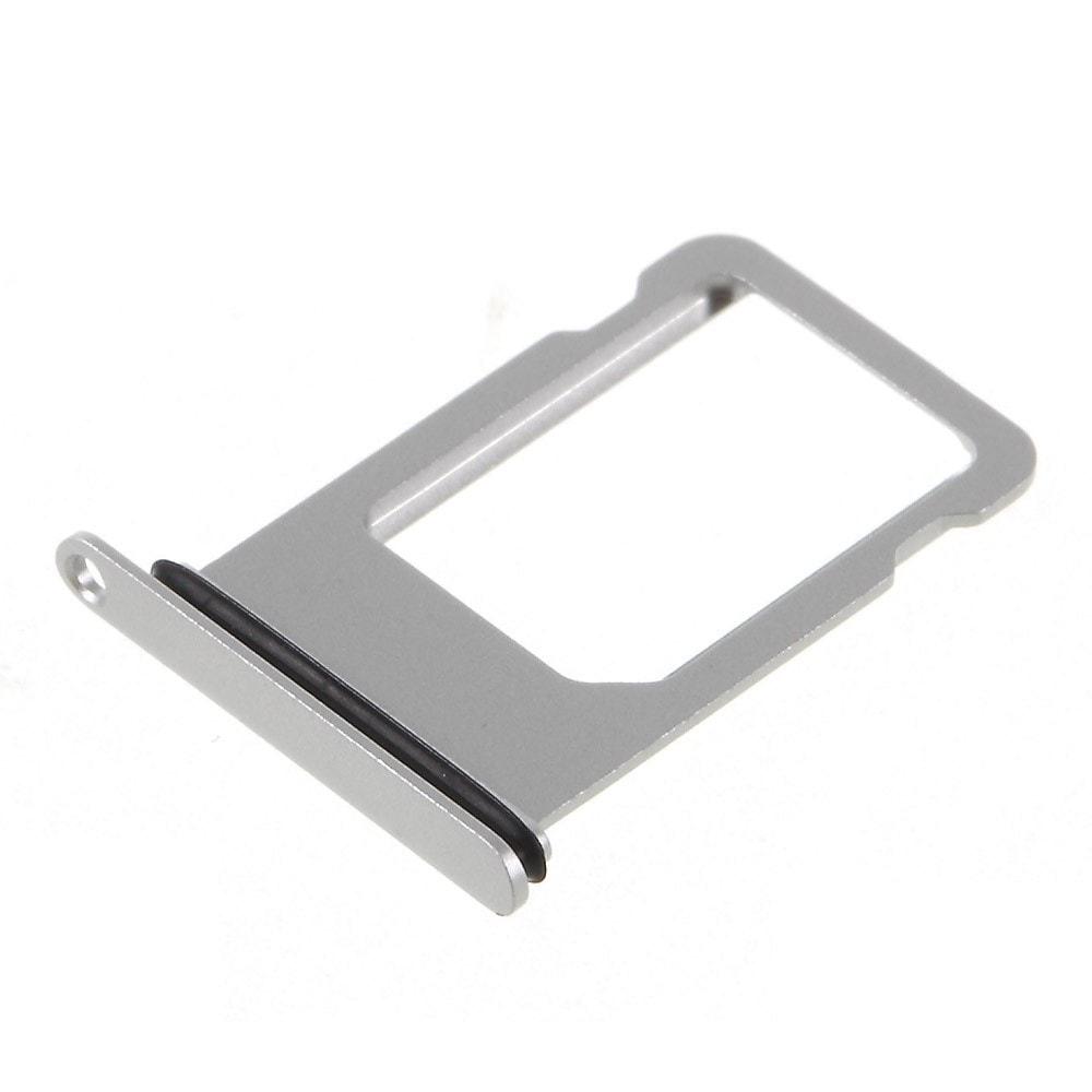 Apple iPhone 8 stříbrný šuplík na SIM kartu