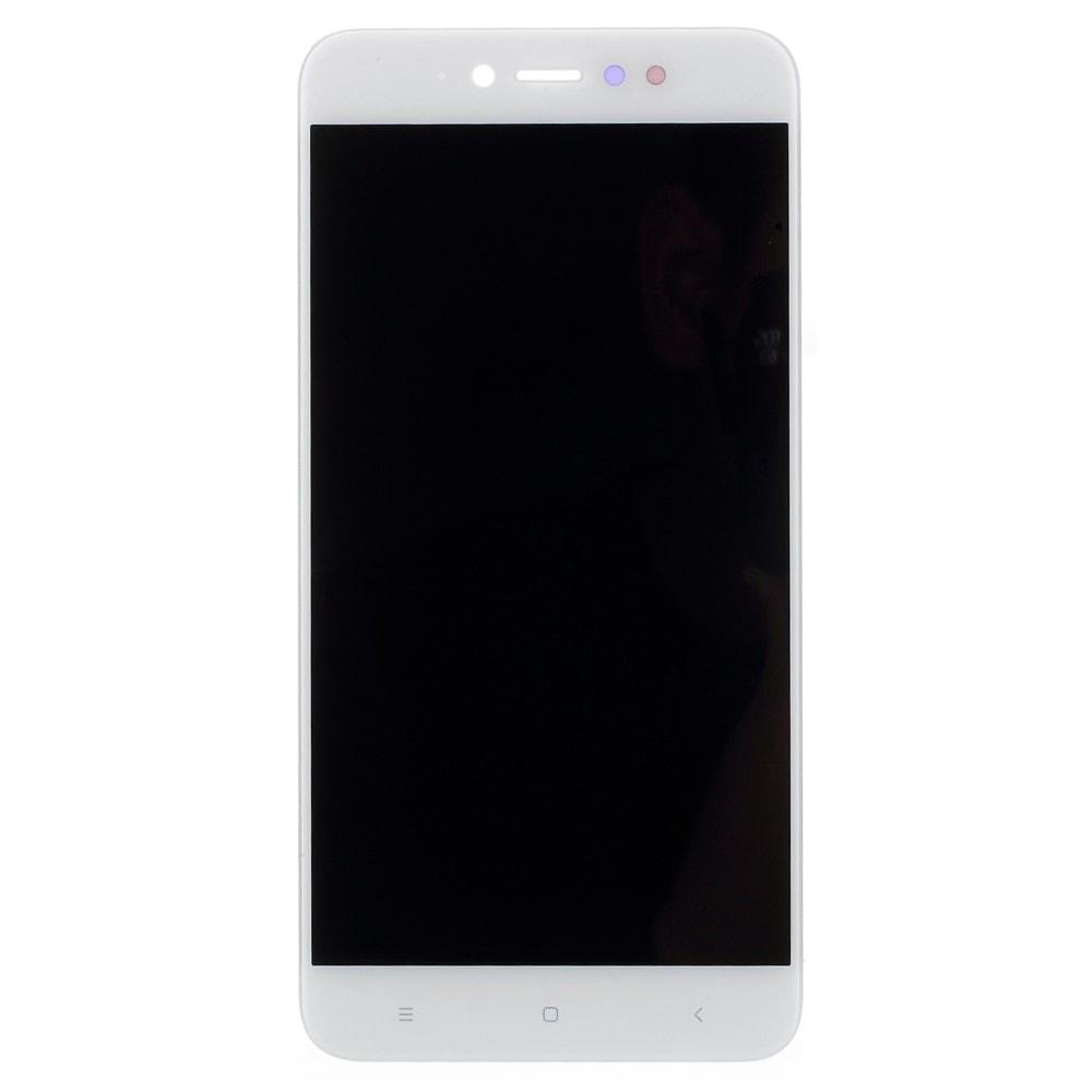 Xiaomi Redmi Note 5A Prime displej dotykové sklo bílé komplet přední LCD panel