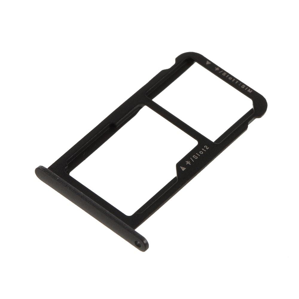 Huawei P10 Lite šuplík na SIM kartu SD tray černý