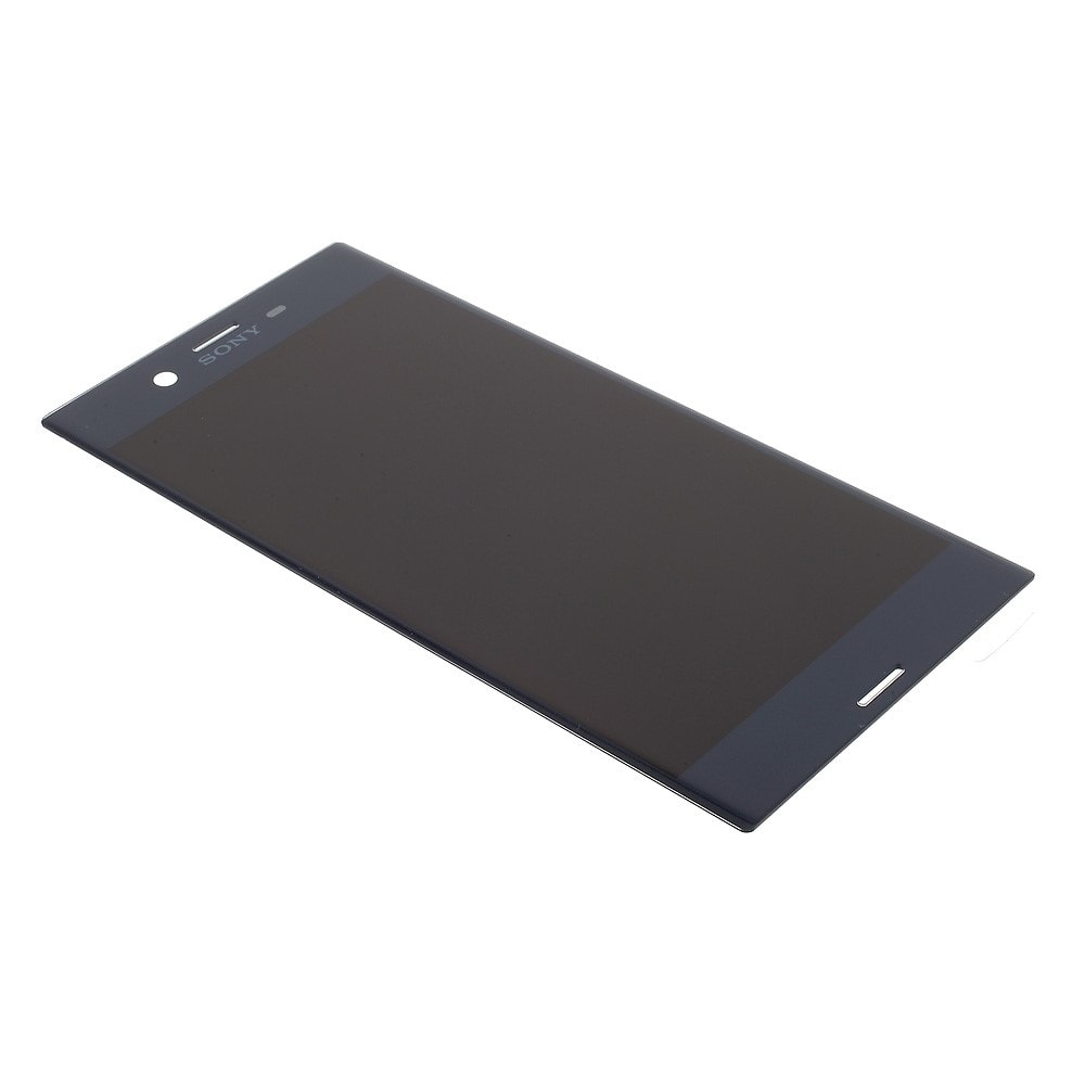 Sony Xperia XZ LCD displej dotykové sklo komplet přední panel tmavě modrý F8331
