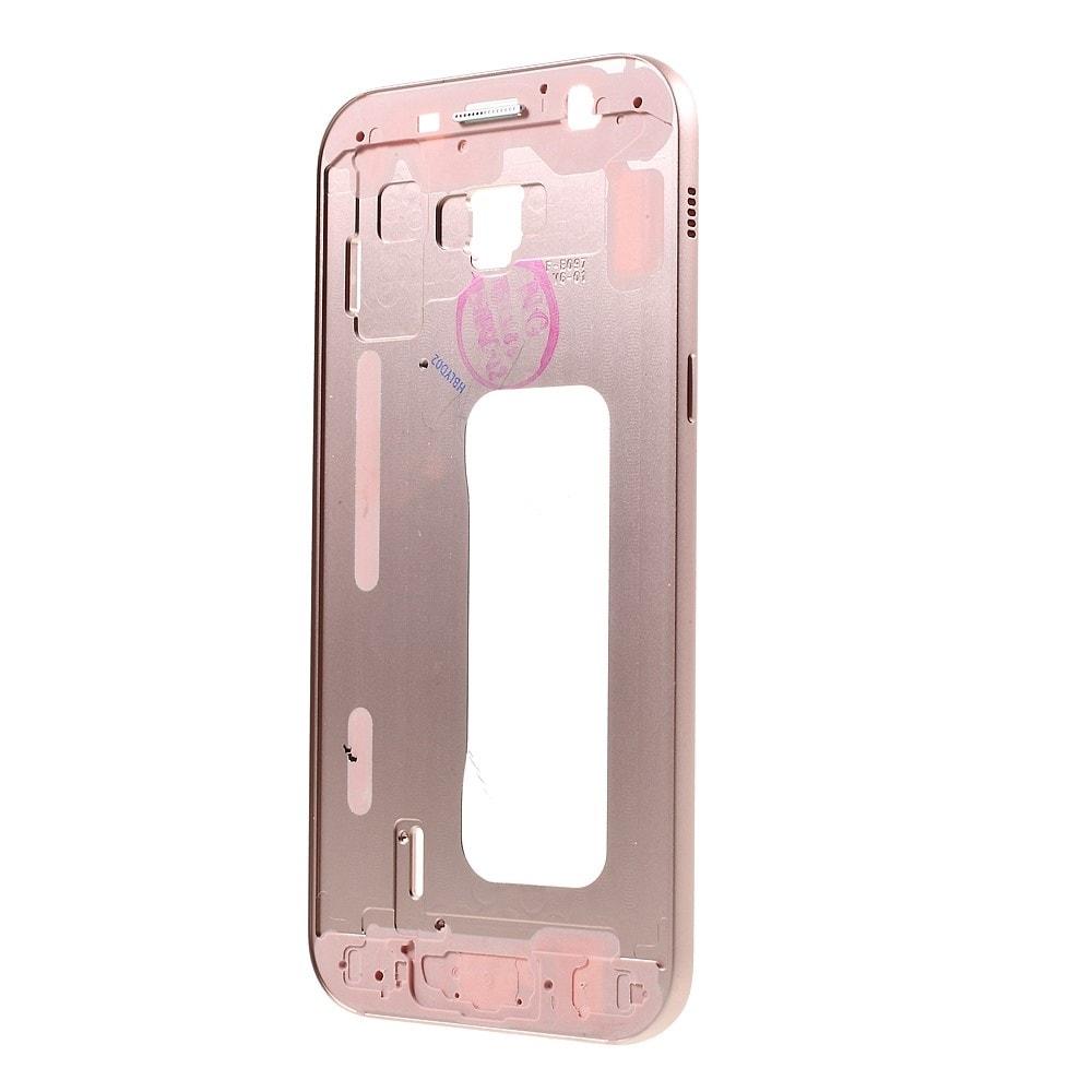 Samsung Galaxy A5 2017 střední rámeček středový kryt růžový A520F