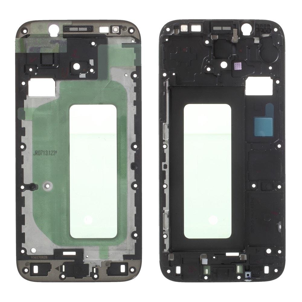 Samsung Galaxy J5 2017 střední díl rámeček pod LCD displej J530F černý