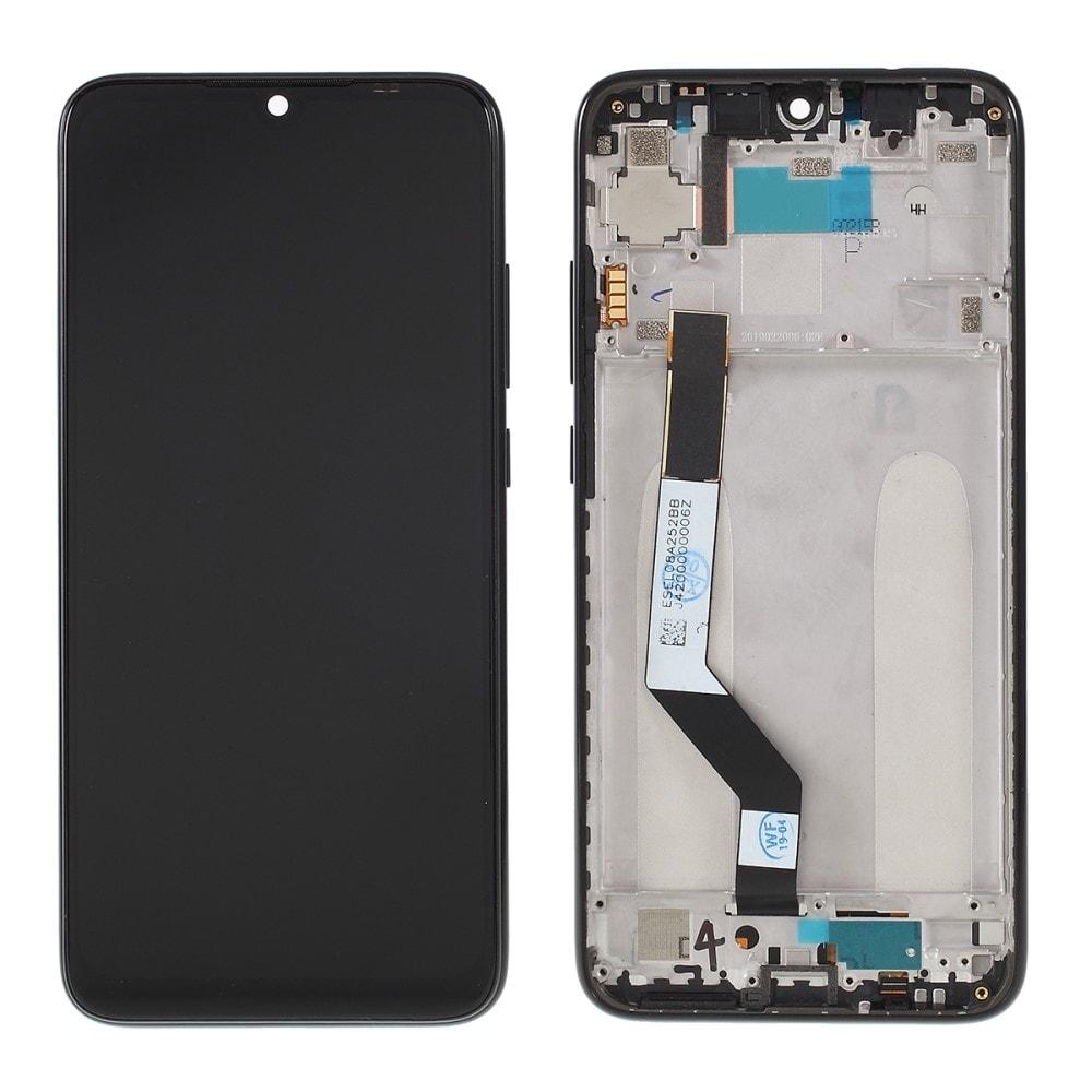 Xiaomi Redmi Note 7 LCD displej dotykové sklo komplet přední panel včetně rámečku