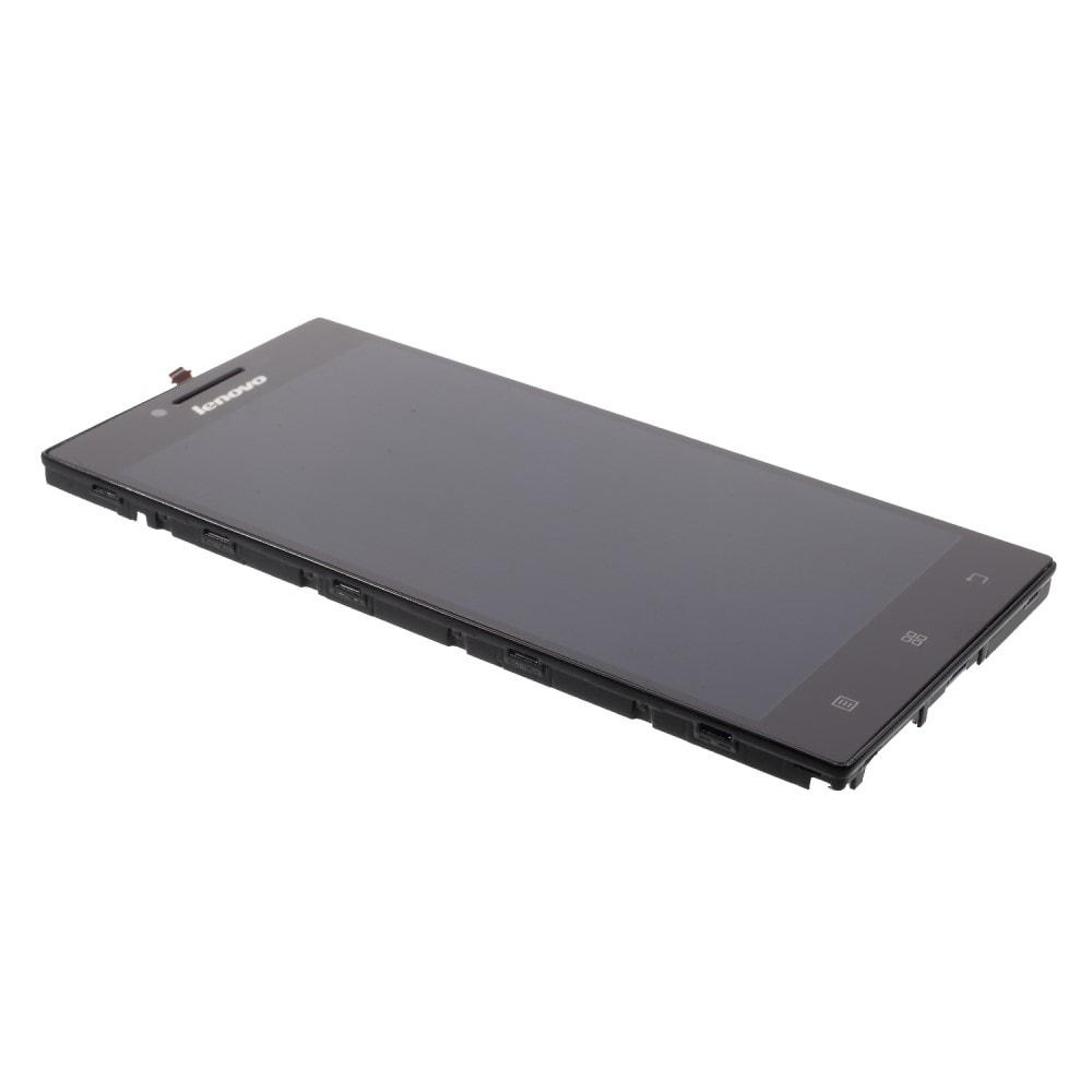 Lenovo P70 LCD displej dotykové sklo komplet přední panel včetně rámečku
