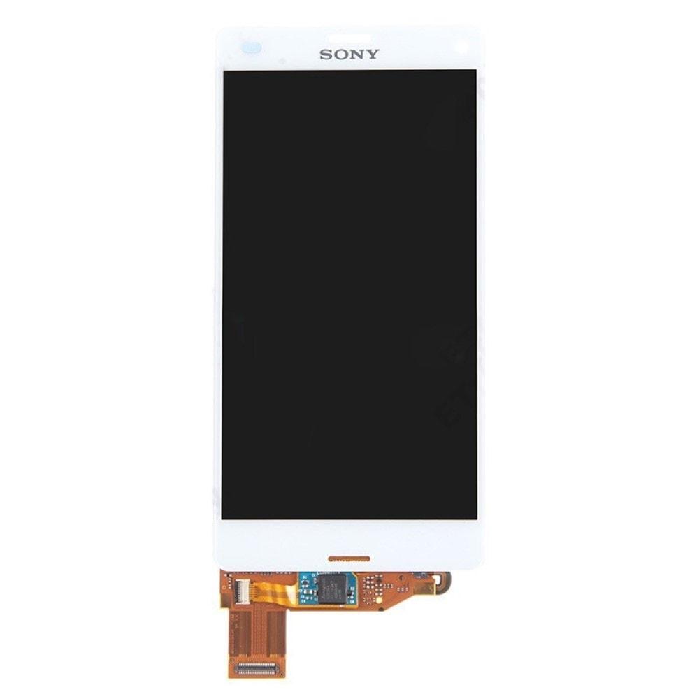 Sony Xperia Z3 compact LCD displej bílý dotykové sklo komplet D5803