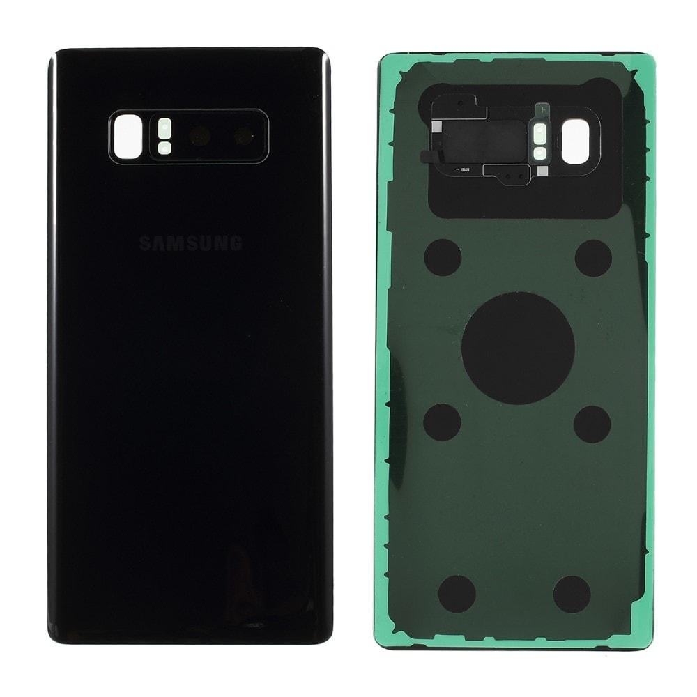 Samsung Galaxy Note 8 Zadní kryt baterie černý včetně osázení krytky fotoaparátu N950