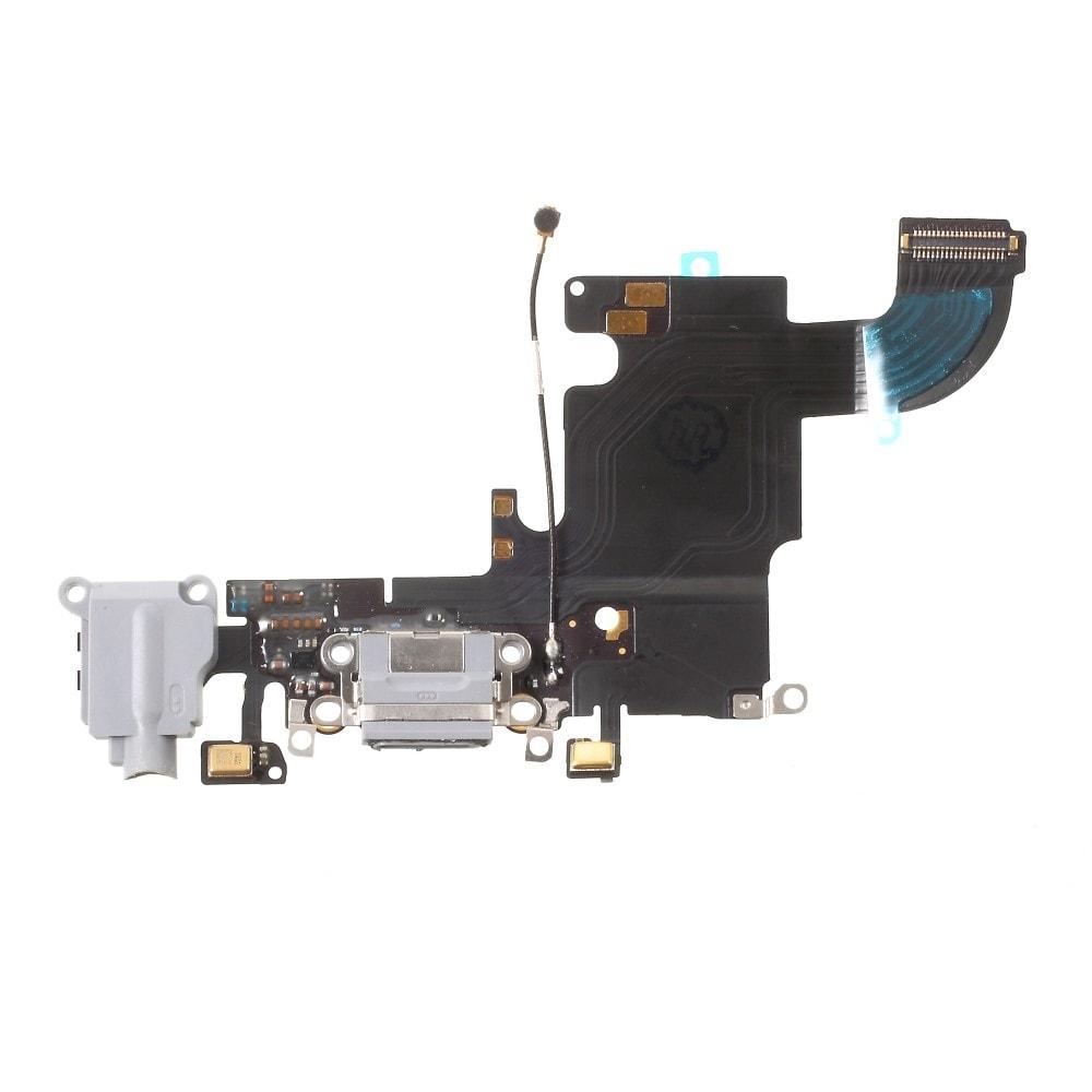 Apple iPhone 6S dock konektor nabíjení mikrofon anténa flex šedý