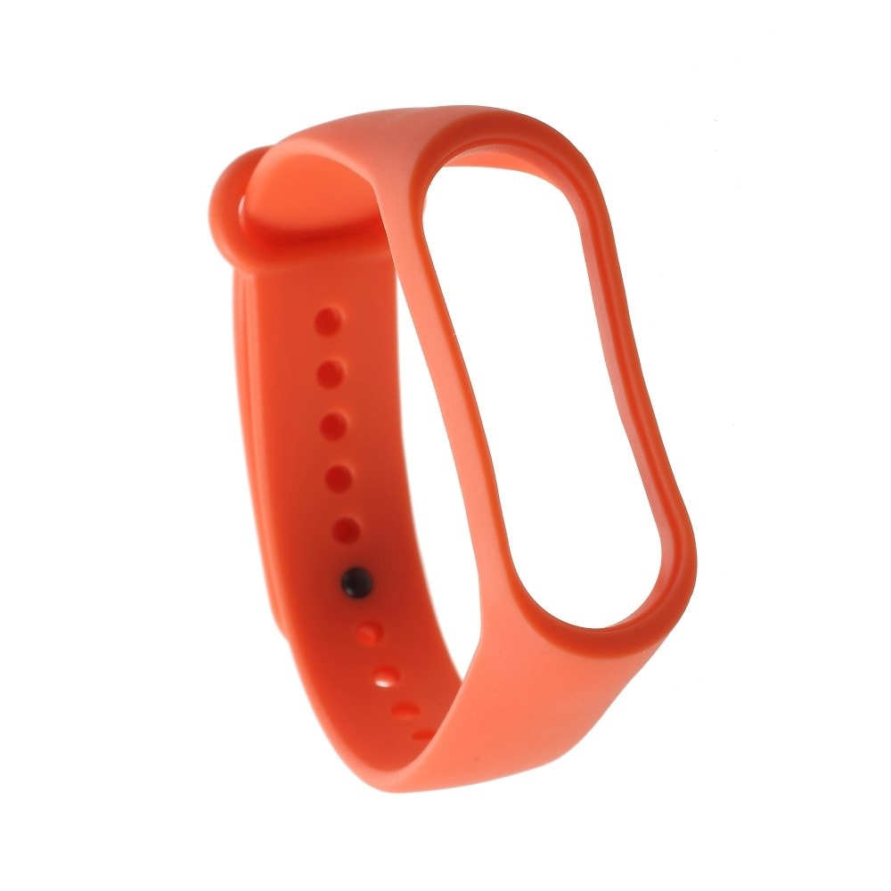 Xiaomi Mi Band 3 pásek na ruku řemínek silikon oranžový