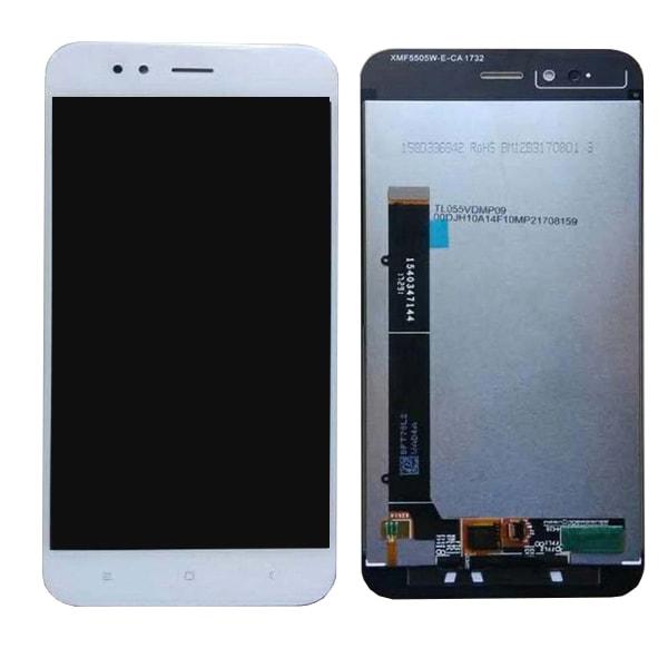 Xiaomi Mi A1 LCD displej dotykové sklo bílé