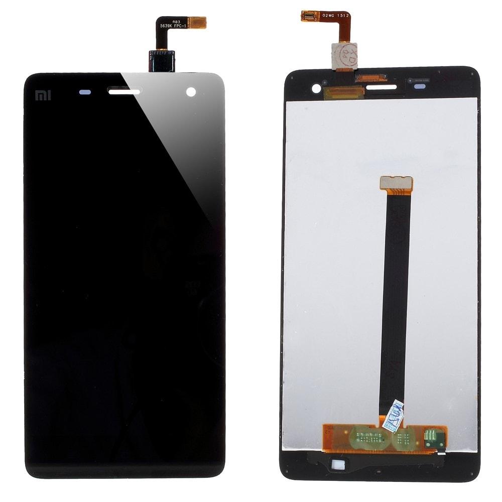 Xiaomi Mi4 LCD displej černý + dotykové sklo komplet