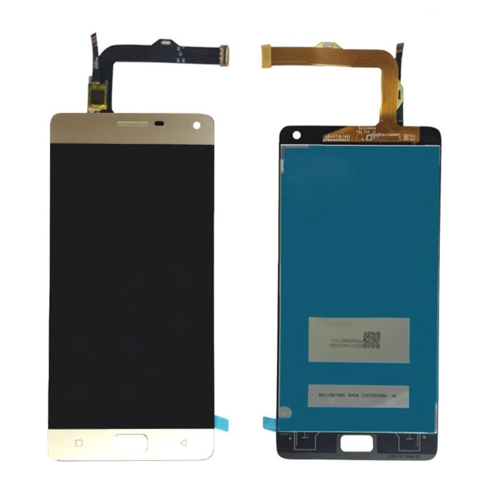 Lenovo Vibe P1 LCD displej dotykové sklo zlaté P1c72 P1a42 P1c58