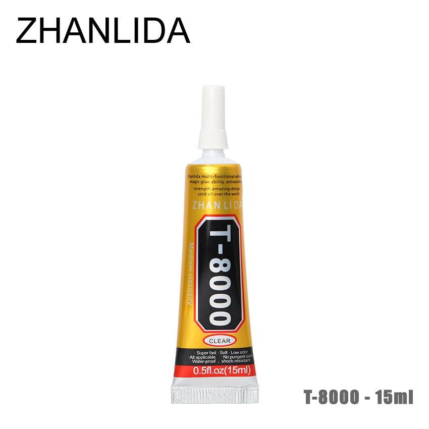 Lepidlo na displeje opravy telefonů ZHANLIDA T-8000 15ml