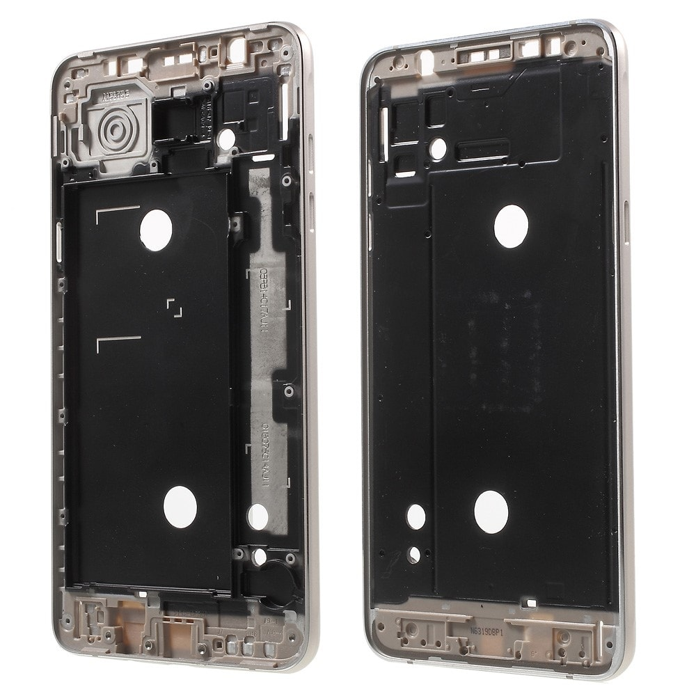Samsung Galaxy J7 2016 střední kryt rámeček telefonu zlatý J710F