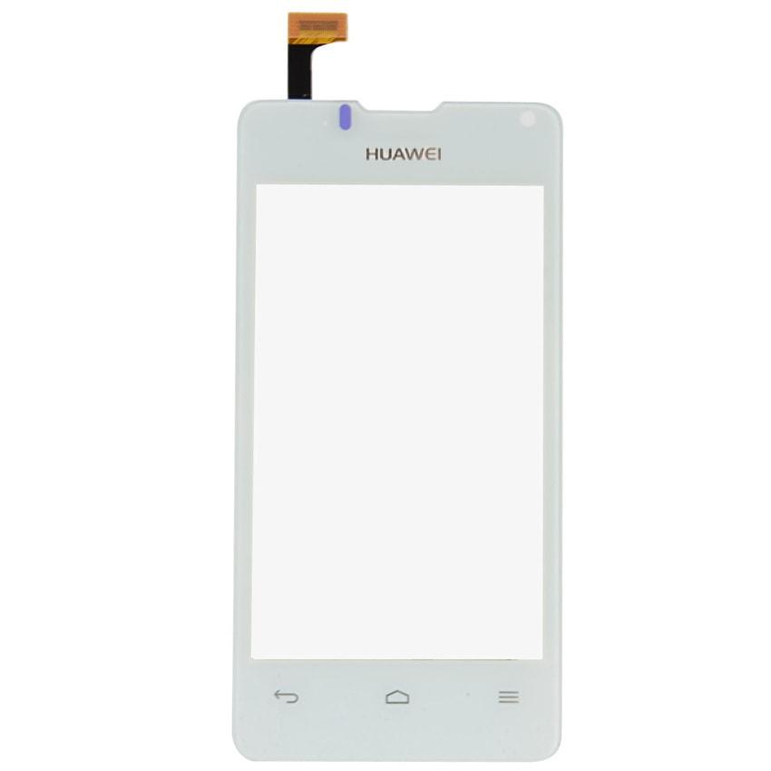 Huawei Ascend Y300 dotykové sklo bílé