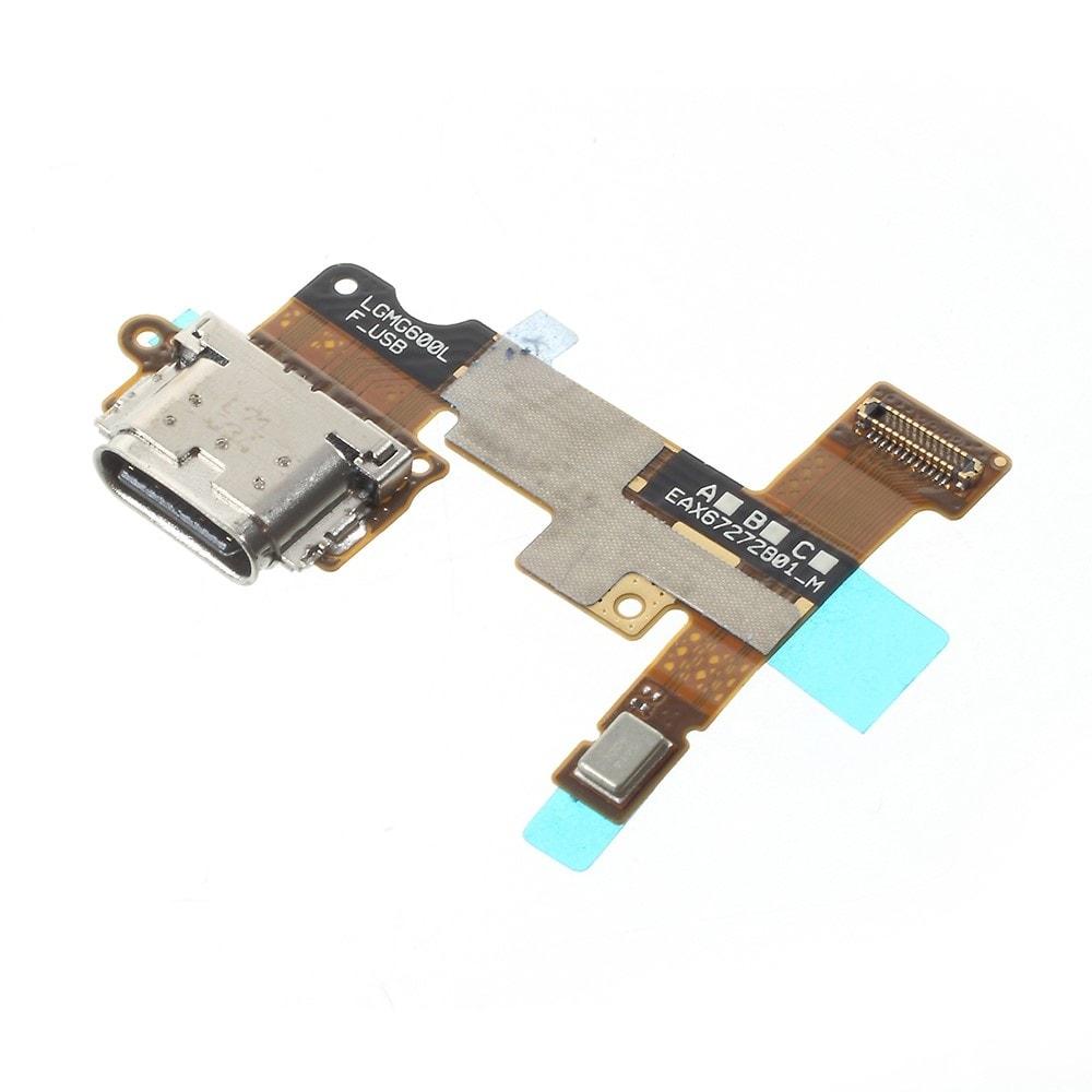 LG G6 Napájecí konektor nabíjení port usb flex dock mikrofon