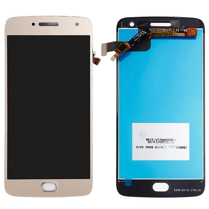 Motorola Moto G5 Plus LCD displej dotykové sklo zlaté