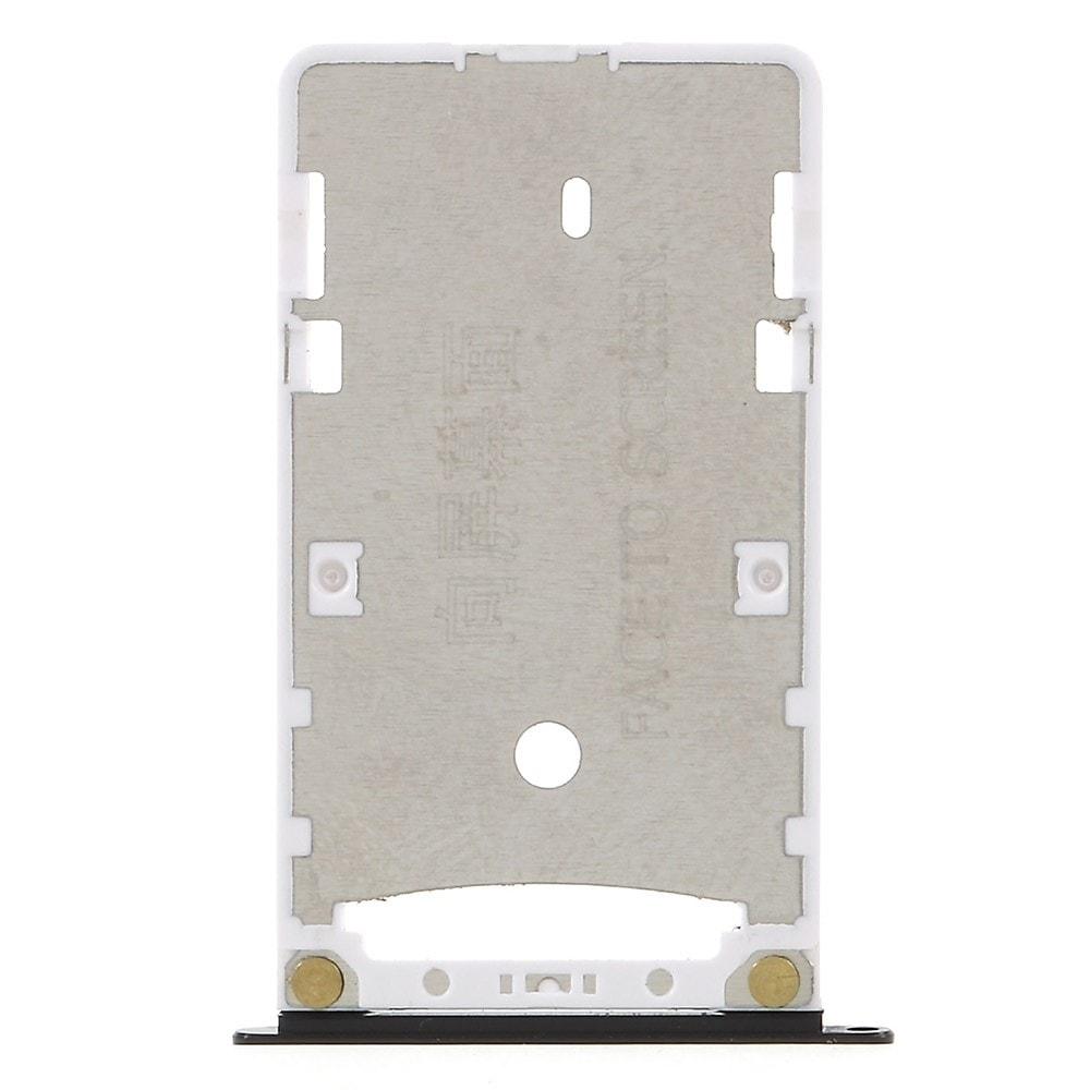 Xiaomi Redmi 4X šuplík na SIM Dual kartu SD tray černý