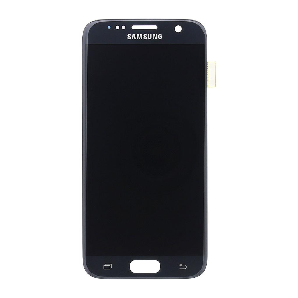 Samsung Galaxy S7 LCD displej dotykové sklo černé G930 AMOLED