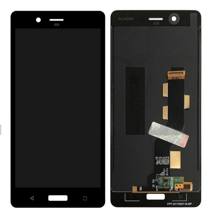 Nokia 8 LCD displej dotykové sklo černé