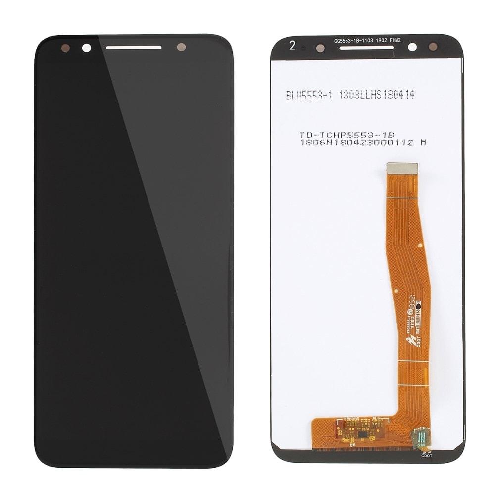 Vodafone N9 VFD720 LCD displej dotykové sklo černé komplet přední panel