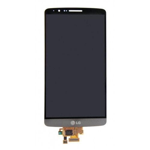 LG G3 LCD displej šedý dotykové sklo komplet D855 D850 titan