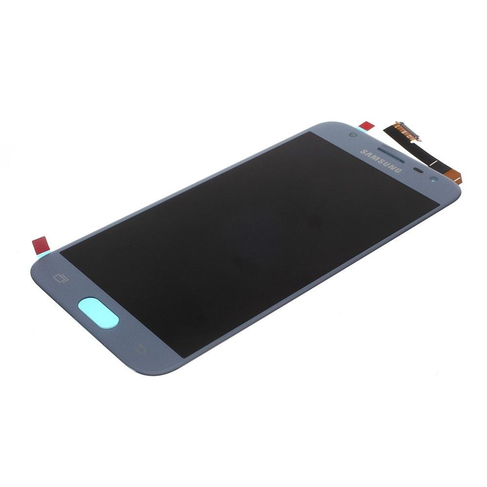 Samsung Galaxy J3 2017 LCD displej dotykové sklo stříbrný J330 / J330F