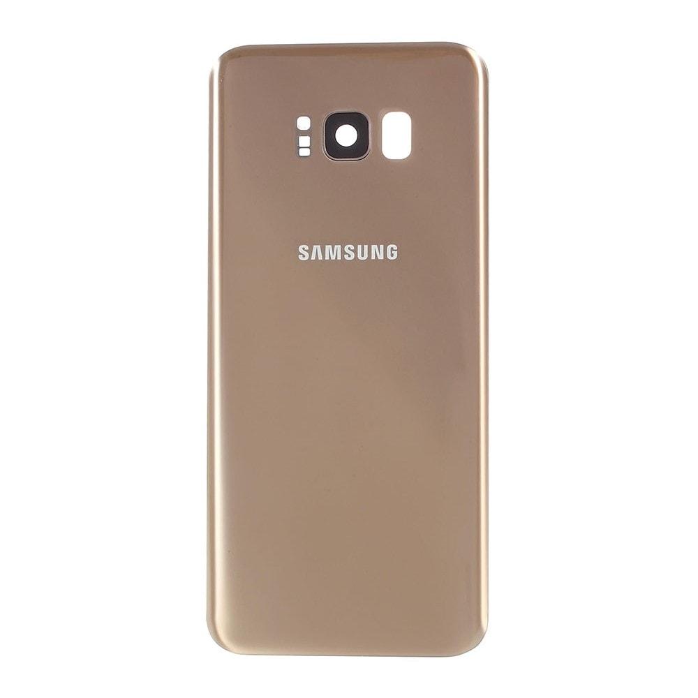 Samsung Galaxy S8 Plus zadní kryt baterie osazený včetně krytky fotoaparátu zlatý G955F