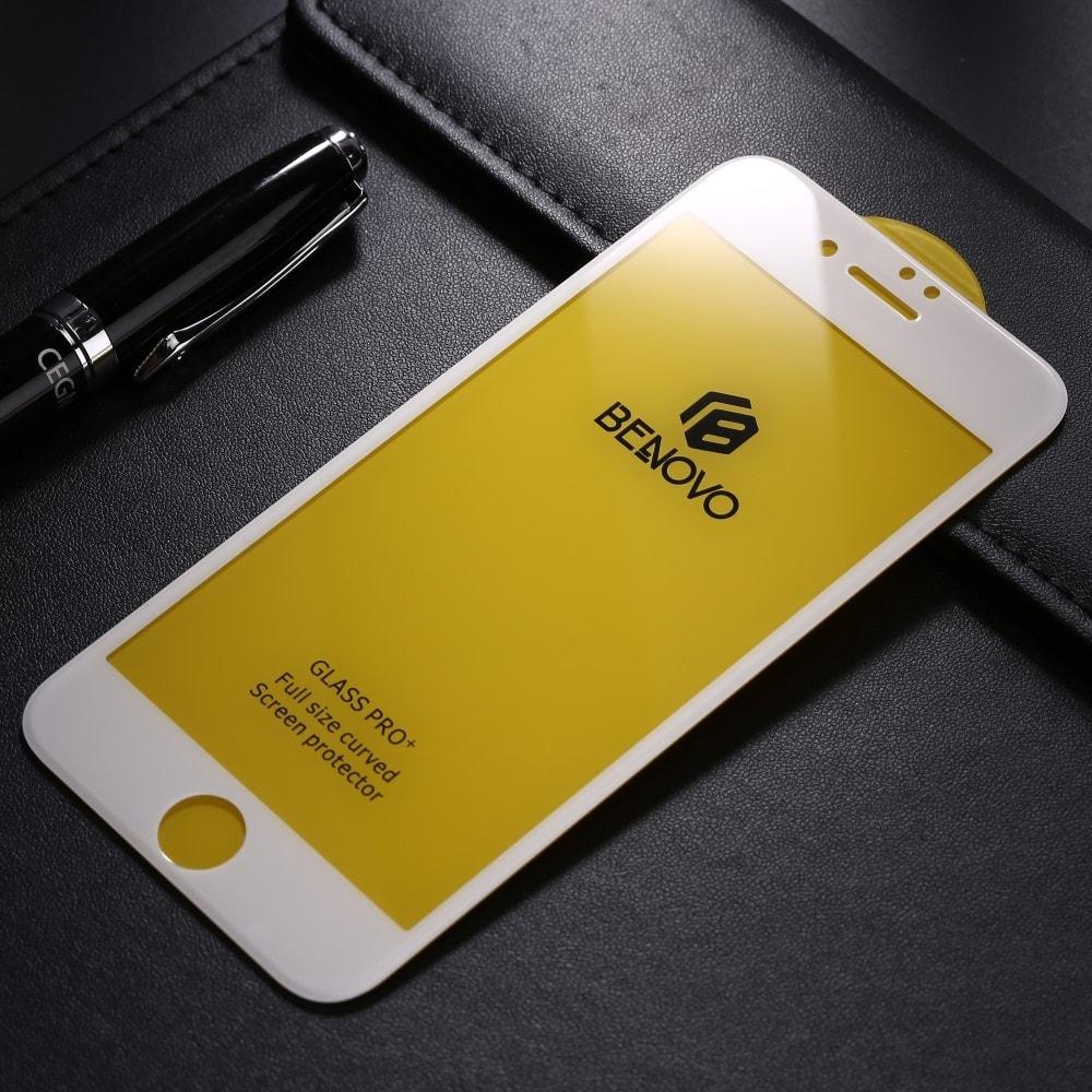 Apple iPhone 6 Plus / 6S Plus 5D Ochranné tvrzené sklo bílé