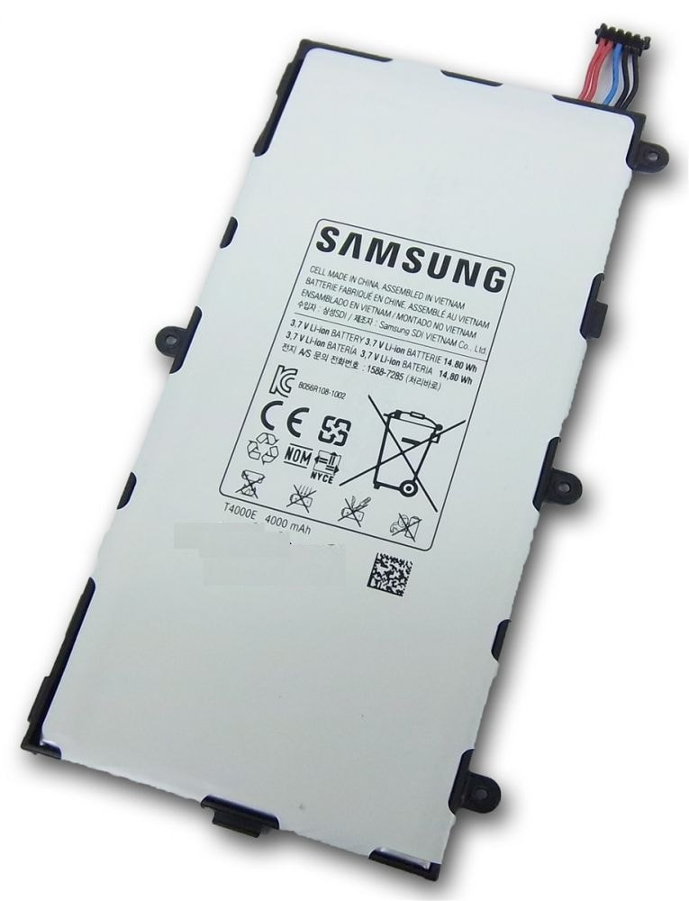 "Samsung Galaxy Tab 3 7"" T210 T211 Baterie T4000E 4000mAh"