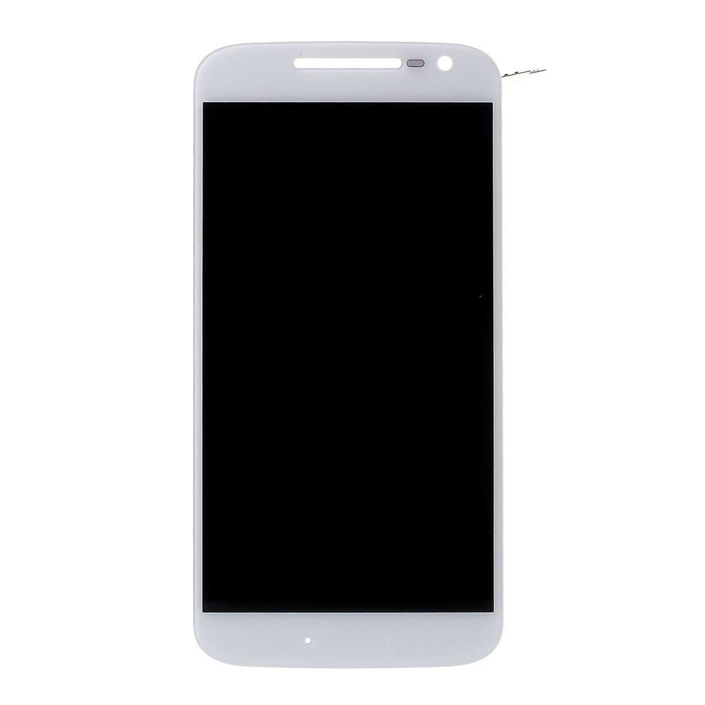 Motorola Moto G4 LCD displej dotykové sklo komplet bílý
