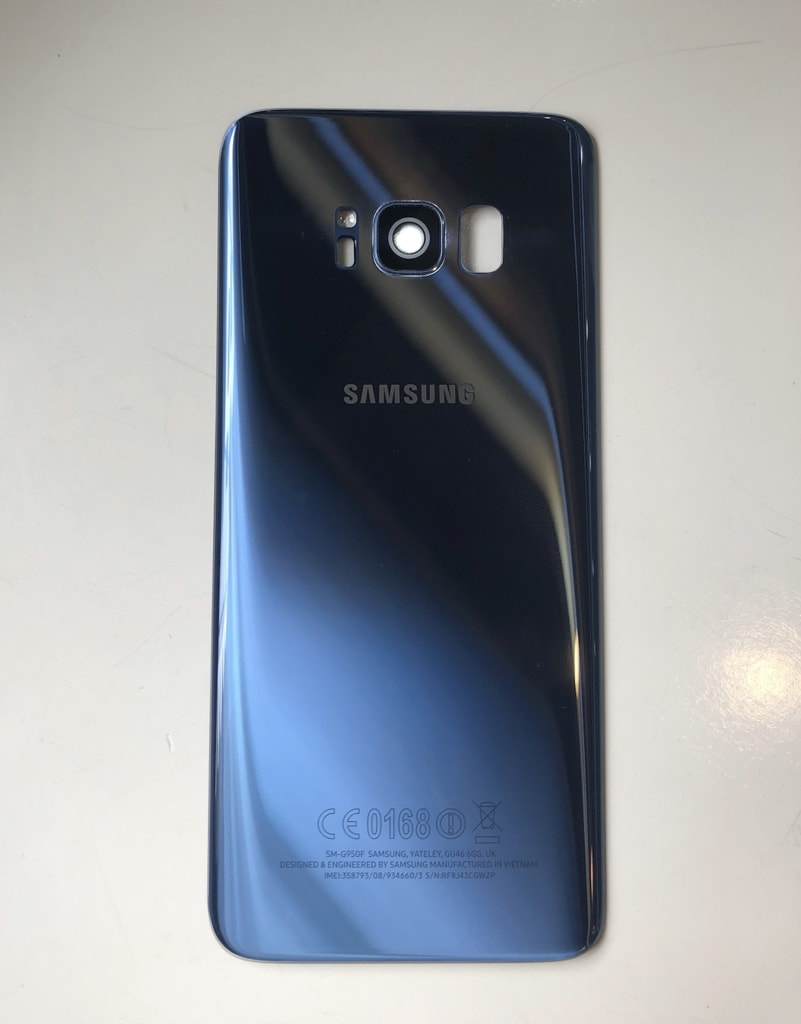 Samsung Galaxy S8 zadní kryt baterie originální modrý G950F Použitý