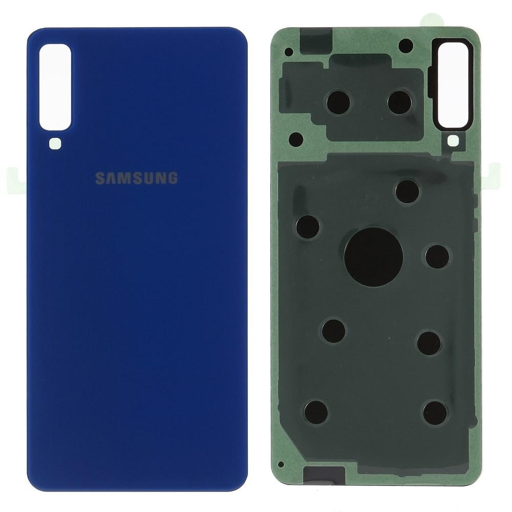 Samsung Galaxy A7 2018 zadní kryt baterie modrý A750