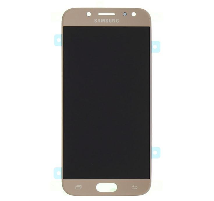 Samsung Galaxy J7 2017 Amoled LCD displej dotykové sklo zlaté J730F
