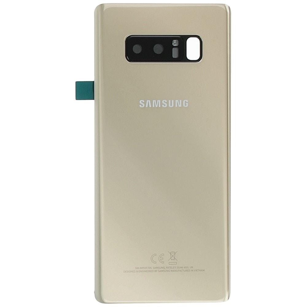Samsung Galaxy Note 8 zadní kryt baterie zlatý N950 (Service Pack)