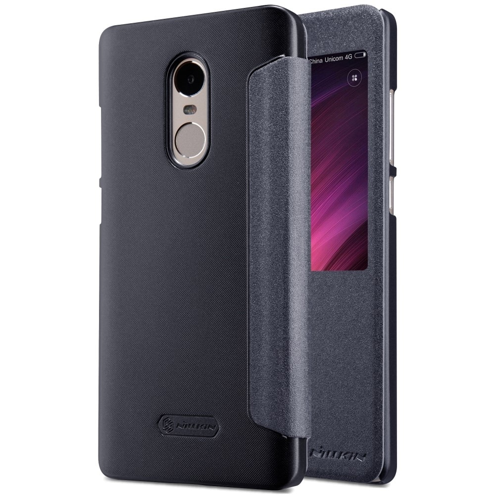 Xiaomi Redmi Note 4 Global / Note 4X Ochranné pouzdro knížka černá NILLKIN Sparkle