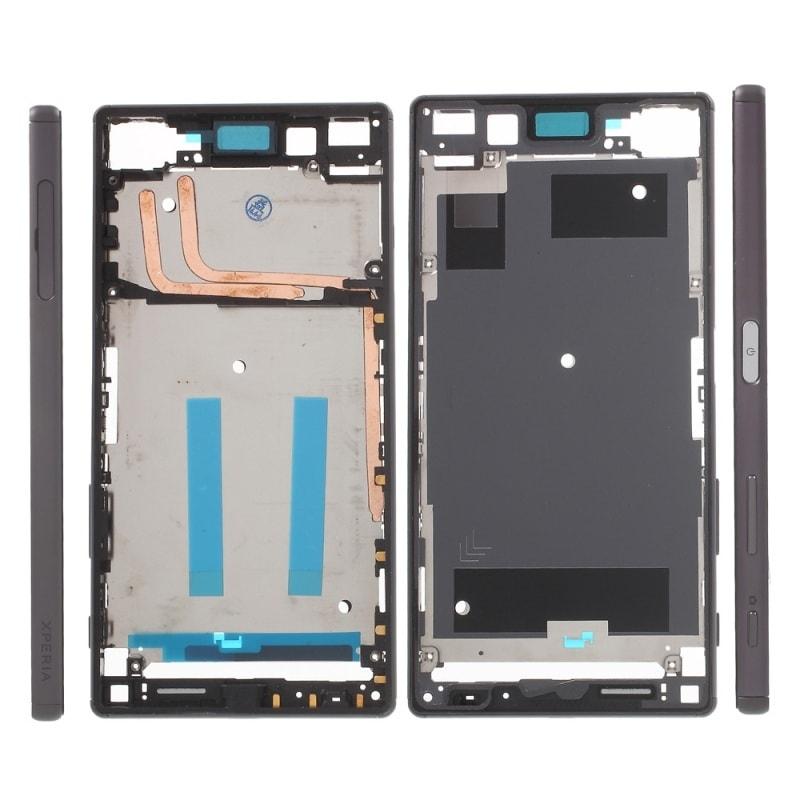 Sony Xperia Z5 střední rámeček LCD šedý E6653