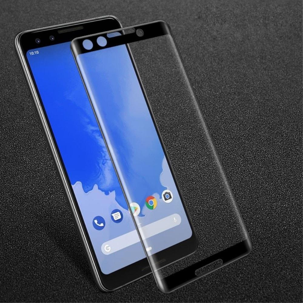 Google Pixel 3 Ochranné tvrzené sklo na displej černé