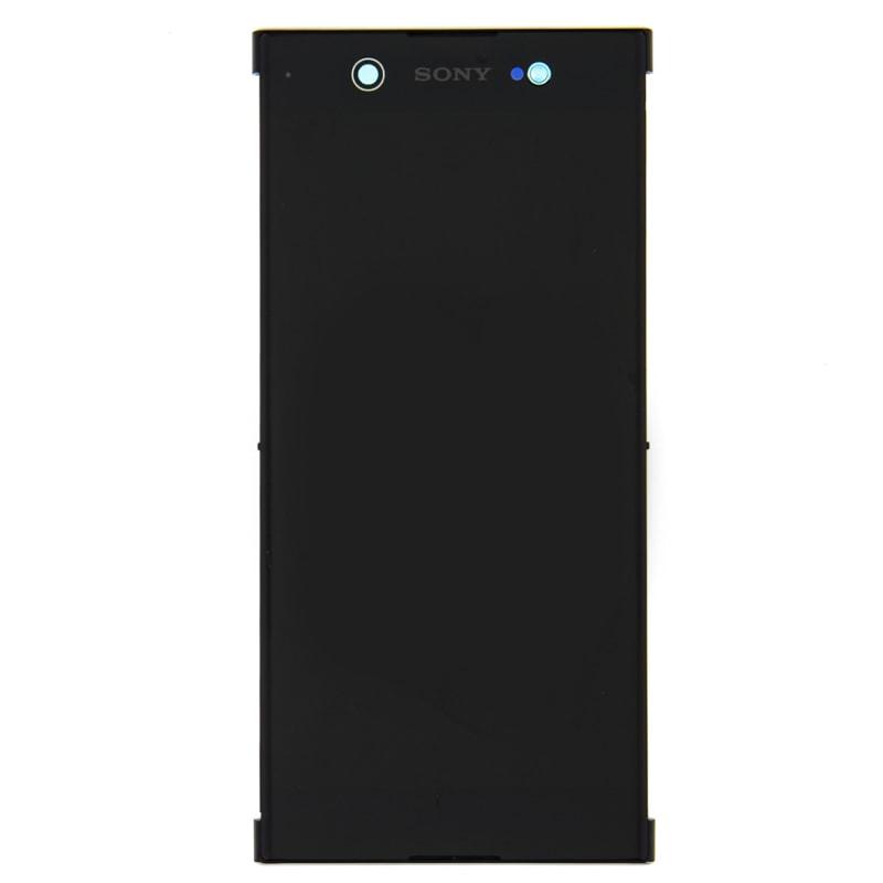 Sony Xperia XA1 Ultra LCD displej komplet dotykové sklo černé včetně rámečku G3221