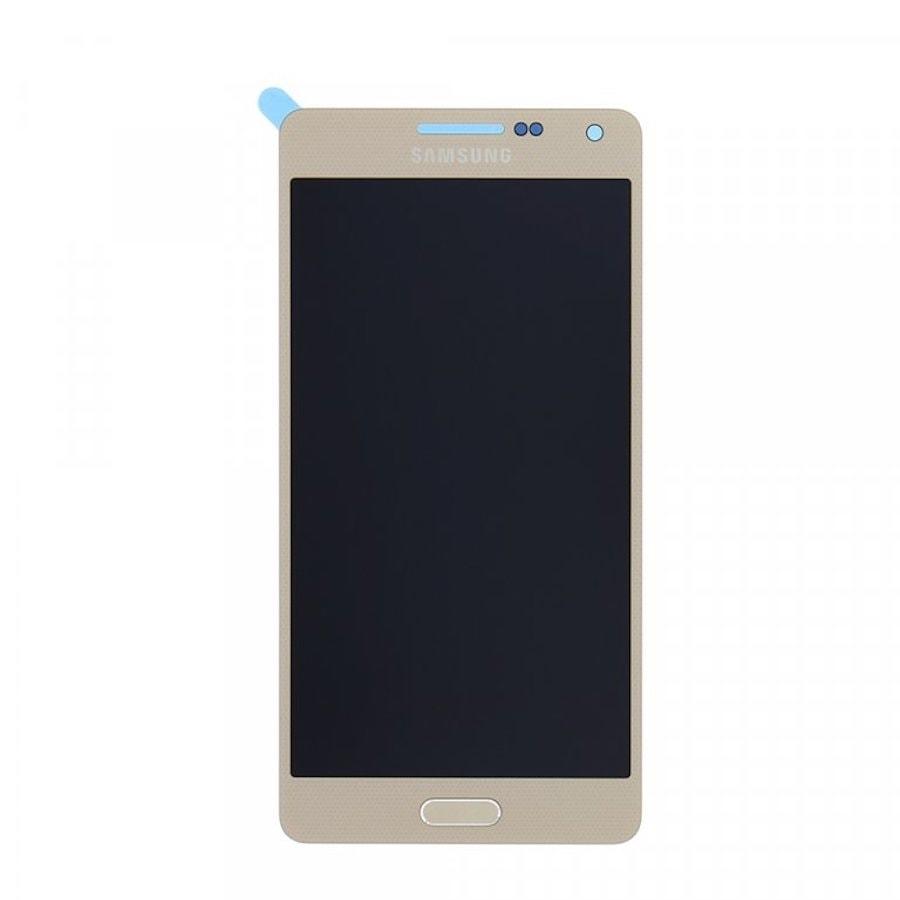 Samsung Galaxy A5 2015 LCD displej dotykové sklo zlaté A500F