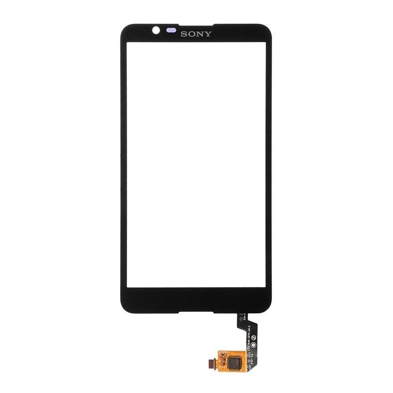 Sony Xperia E4 dotykové sklo černé E2105