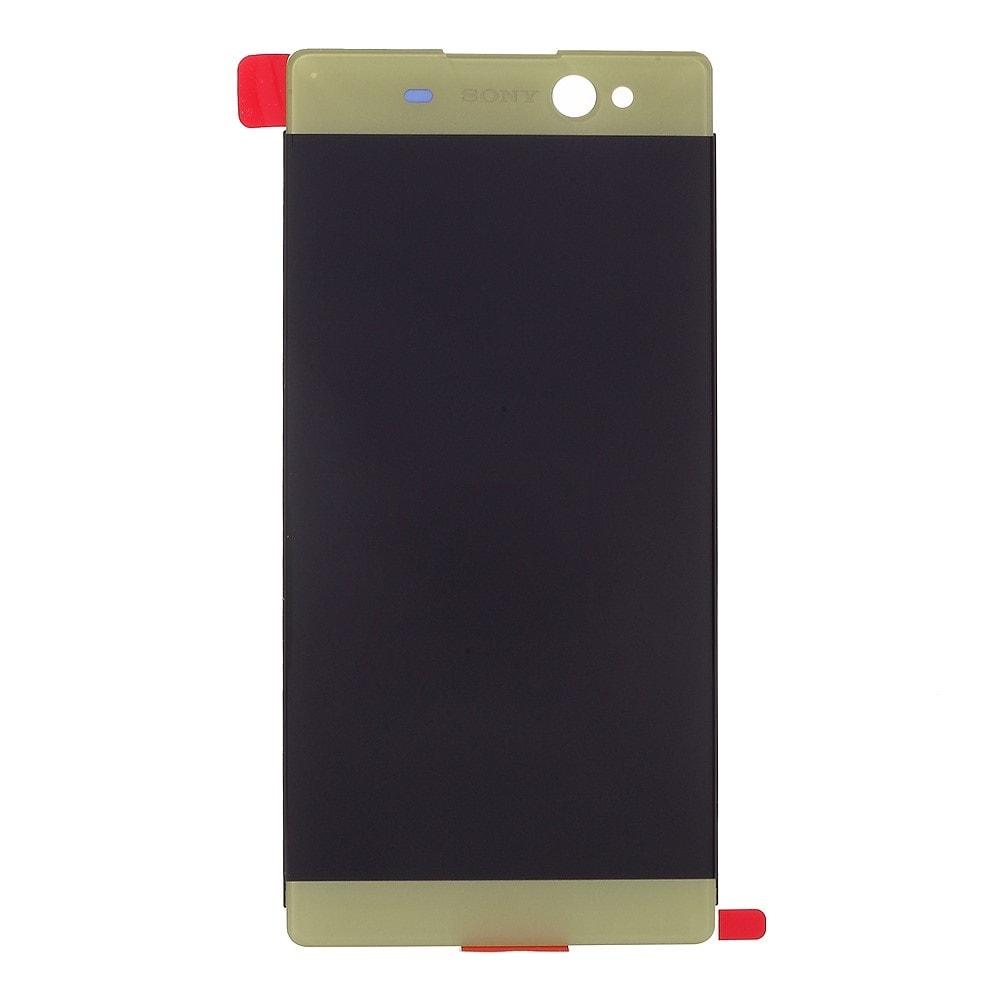 Sony Xperia XA Ultra LCD displej dotykové sklo limetkově zelená F3211