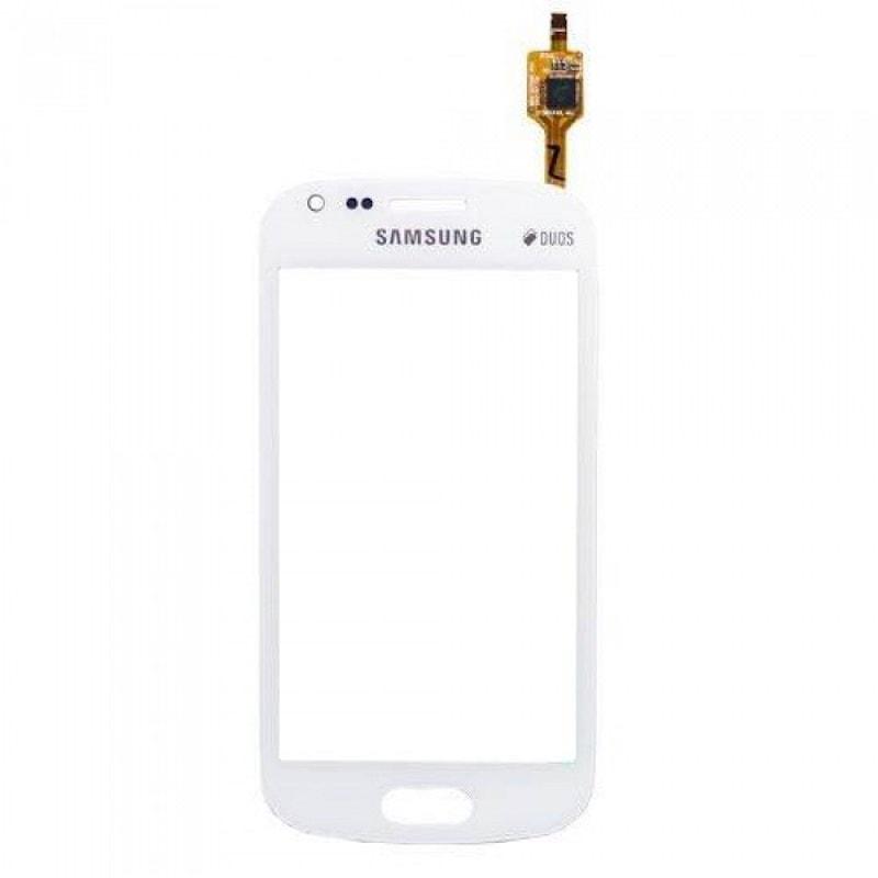 Samsung Galaxy S Duos 2 dotykové sklo bílé S7582 Trend Plus 2 S7580